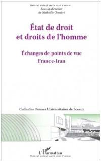 Etat de droit et droits de l'homme : Echange de points de vue France-Iran