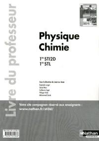 Physique Chimie Première Sti2d Première Stl Professeur 2011