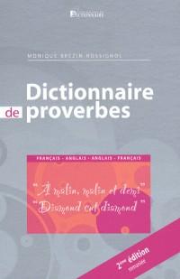 Dictionnaire des proverbes et des expressions idiomatiques