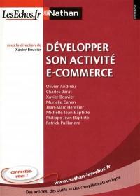 Développer une activité e-commerce