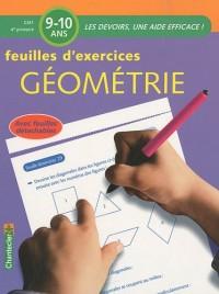 Feuilles d'exercices Géométrie Primaire CM1 : 9-10 ans