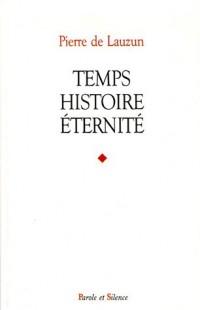 Temps, histoire, éternité