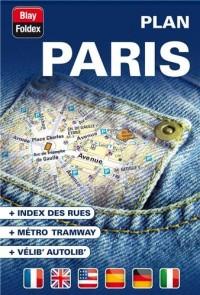 Paris (75) - Plan de Ville de Poche - 2013