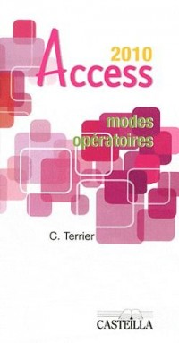 Modes Operatoires Access Office 2010