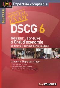 DSCG 6 Réussir l'épreuve d'Oral d'économie se déroulant partiellement en anglais