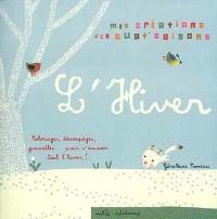 Hiver (avec 2 planches de gommettes à découper)