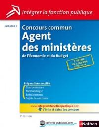 Concours Agent des ministères de l'Economie et du Budget - Catégorie C