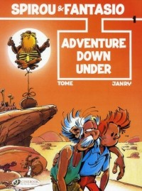 An Adventure of Spirou and Fantasio, Tome 1 : Adventure Down Under