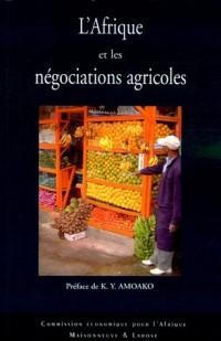 L'Afrique et les négociations agricoles