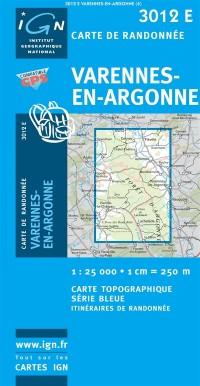 Varennes-en-Argonne GPS: IGN3012E