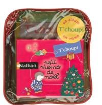 Besace T'Choupi de Noël : Un album (T'choupi fait un bonhomme de neige) et un mémo