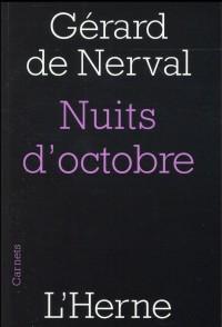 Nuits d'octobre
