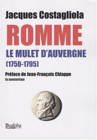 Romme, le Mulet d'Auvergne