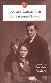 Rue des Rosiers, Tome 2 : On a retrouvé David