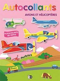Autocollants avions et hélicoptères