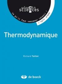 Thermodynamique : 1er cycle, prépas, concours