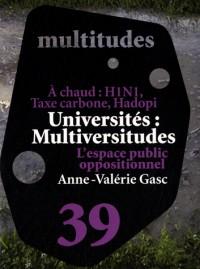 Université et espace...