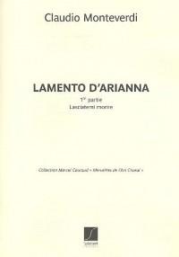 Partitions classique SALABERT MONTEVERDI C. - LASCIATEMI MORIRE - CHOEUR (5VX-MX) Choeur et ensemble vocal