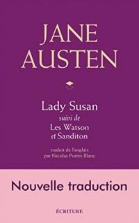 Lady Susan, Les Watson, Sanditon, nouvelle traduction  width=