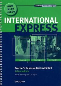 International Express : Teacher's Resource Book Intermediate (1DVD)