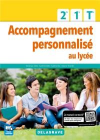 Accompagnement Personnalise au Lycee 2e 1e Tle Eleve 2017