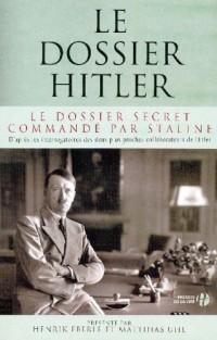 Le dossier Hitler