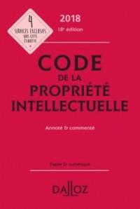 Code de la propriété intellectuelle 2018, Annoté & commenté