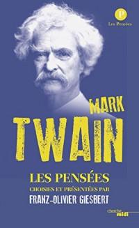 Pensées de Mark Twain
