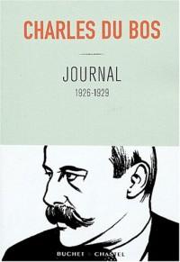 Journal : 1926-1929