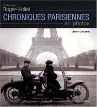 Chroniques parisiennes en photos