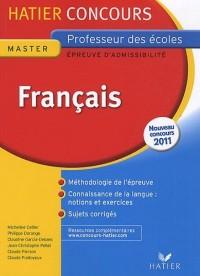 Hatier Concours CRPE 2011 - Français - Epreuve d'admissibilité