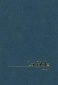 Bible Semeur Miniature, Fermeture Eclair, Marine