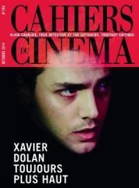 Cahiers du cinéma, N° 704 octobre 2014 :