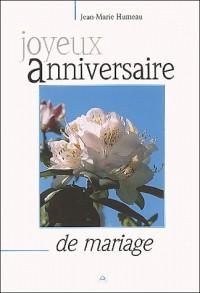 Joyeux Anniversaire de Mariage - F