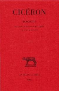 Discours, tome 4, livre III, 3e édition. 2e action contre C. Verrès, le froment
