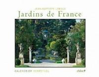 Calendrier perpétuel les plus beaux jardins de France