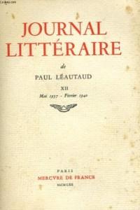 Journal littéraire (Tome 13-1940-1941)