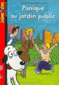 Panique au jardin public