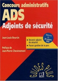 Adjoints de sécurité : Devenir ADS, Passer gardien de la paix