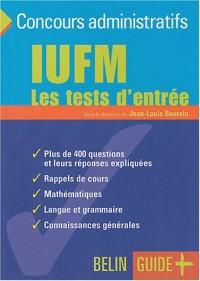 IUFM : Les tests d'entrée