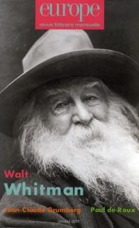 Walt Whitman N 990 Octobre 2011