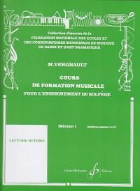 Cours de Formation Musicale pour l'Enseignement du Solfege Débutant 1