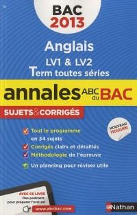Annales bac 2013 anglais toutes series corriges n21