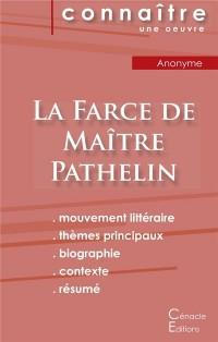 Fiche de lecture La Farce de Maître Pathelin (Analyse littéraire de référence et résumé complet)
