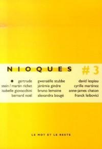 Nioques, N° 3