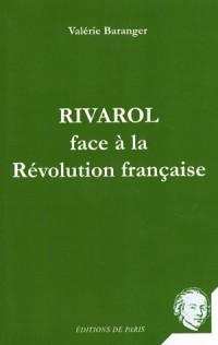 Rivarol face à la Révolution française