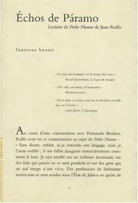 Echos de Paramo : Lecture de Pedro Paramo de Juan Rulfo
