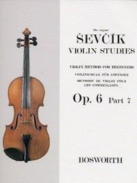 Otakar Sevcik: Violin Studies - Violin Method For Beginners Op.6 Part 7. Partitions pour Violon