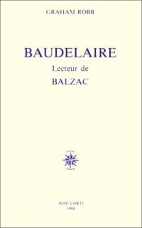 Baudelaire, lecteur de Balzac