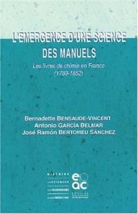 L'Émergence d'une science des manuels
